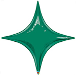 STARPOINT EMERALD GREEN (40 IN ) QTY 5