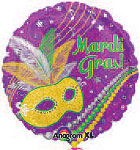 FESTIVE MARDI GRAS (18in.) QTY 5