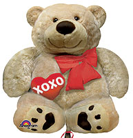 Cuddly Bear Love  (QTY 5) 28IN
