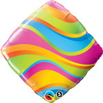 Wavy Stripes Accent Patterns (QTY 5) 18IN