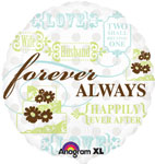 Forever Always (QTY 5 ) 18IN