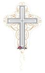 Elegant Cross (28in) QTY 5