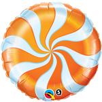 Candy Swirl Orange  (18in) QTY 5