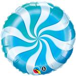 Candy Swirl Blue (18in) QTY 5