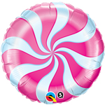 Candy Swirl Magenta (18in) QTY 5