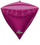 DIAMONDZ STANDARD BRIGHT PINK 17 INCH