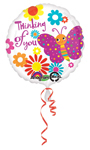 Cute Butterfly Thinking of You  (18in) QTY 5