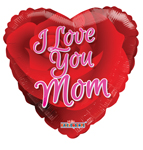 I Love You Mom Rose (18IN) QTY 10