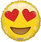 Emoji Smiley Love (18IN) QTY 10