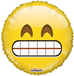 Emoji Smiley Teeth (18IN) QTY 10