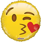 Emoji Smiley Kiss (18IN) QTY 10