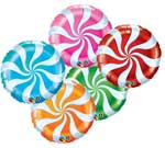 CANDY SWIRL ASSORTMENT (18IN) QTY 5