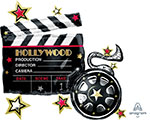 HOLLYWOOD CLAPBOARD (30IN) QTY 5 (30IN) QTY 5