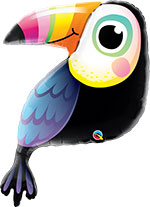 COLORFUL TOUCAN  (41IN) QTY 5