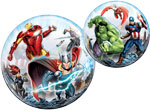 SINGLE BUBBLE AVENGERS (22IN) QTY 5