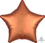 SATIN LUXE AMBER STAR  (18IN) QTY 10