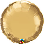 CHROME GOLD ROUND (18IN) QTY 5