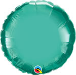 CHROME GREEN ROUND (18IN) QTY 5