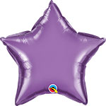 CHROME PURPLE STAR (20IN) QTY 5