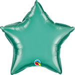 CHROME GREEN STAR (20IN) QTY 5