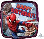 SPIDERMAN HAPPY BIRTHDAY (18IN) QTY 5