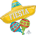 PAPEL PICADO FIESTA CLUSTER (32IN) QTY 5