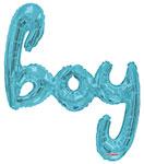 BOY SCRIPT BLUE (36IN) QTY 1