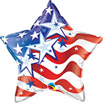 "STARS & STRIPES FOREVER (18"") QTY 5"