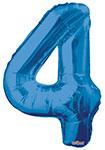 "NUMBER 4 BLUE (34"") QTY 1"