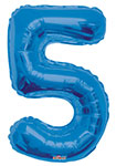 "NUMBER 5 BLUE (34"") QTY 1"