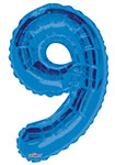 "NUMBER 9 BLUE (34"") QTY 1"