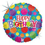 """DOT DOT BIRTHDAY (36"""") QTY 5"""