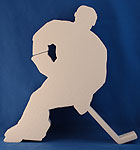 HOCKEY A (12in x 1½ thick) QTY2