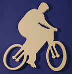 CYCLING (12in x 1½ thick) QTY2