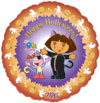 DORA THE EXPLORER HALLOWEEN - HALLOWEEN (18in.)  QTY 5