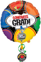 Congrat Grad Recordable  (32IN) QTY 3
