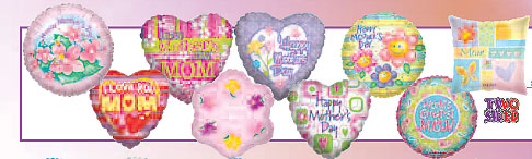 TWO SIDED HAPPY MOTHER'S DAY ASST (18 INCH) QTY 100