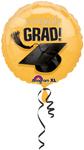 Congrats Grad! GOLD (18IN) QTY 10