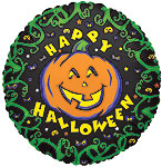 HAPPY HALLOWEEN (9 IN) QTY 25