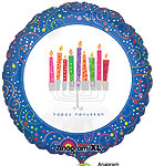 PLAYFUL MENORAH (18 IN) QTY 5
