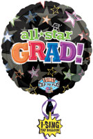 ALL STAR GRAD SING-A-TUNE (28in) QTY 3