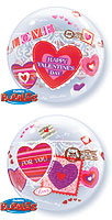 Valentine Love & Lace Bubble (22 in) QTY 5