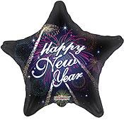 HAPPY NEW YEAR FIREWORK (18in) QTY 10