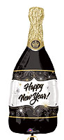 CHAMPAGNE NEW YEAR (36in) QTY 5
