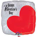 HAPPY VALENTINE'S DAY CROPPED 18in QTY 5