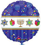 HANNUKKAH CELEBRATION (18 IN) QTY 5