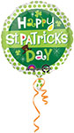 ST. PATRICK DAY DOTS  18in INCH