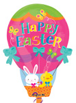 Easter Hot Air Balloon (18IN) QTY 5