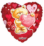BE MY VALENTINE BEAR 18 INCH QTY 10