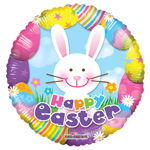 Colorful Easter Bunny (18IN) QTY 10